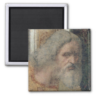 The Last Supper, 1495-97 2 Inch Square Magnet