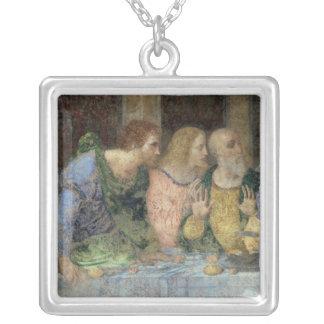 The Last Supper, 1495-97 Square Pendant Necklace