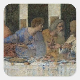 The Last Supper, 1495-97 Square Stickers
