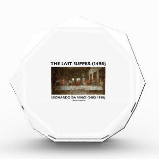 The Last Supper (1498) by Leonardo da Vinci Acrylic Award