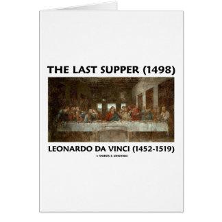 The Last Supper (1498) by Leonardo da Vinci Card