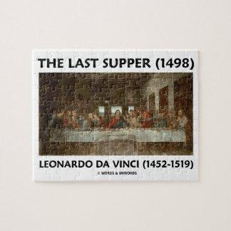The Last Supper (1498) by Leonardo da Vinci Jigsaw Puzzle