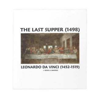 The Last Supper (1498) by Leonardo da Vinci Notepad