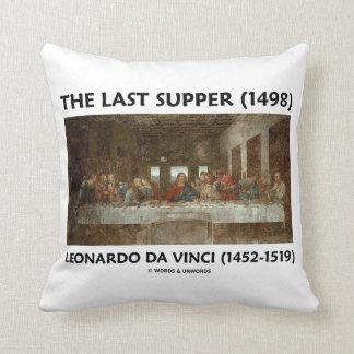 The Last Supper (1498) by Leonardo da Vinci Throw Pillow