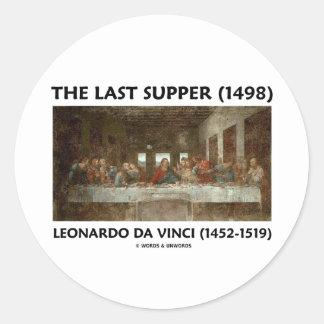 The Last Supper 1498 by Leonardo da Vinci Sticker