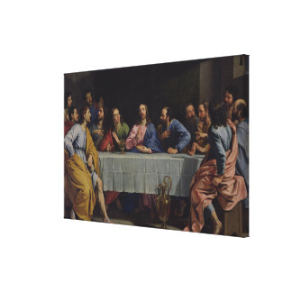 The Last Supper, 1648 Canvas Print