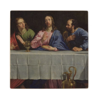 The Last Supper, 1648 Wood Coaster