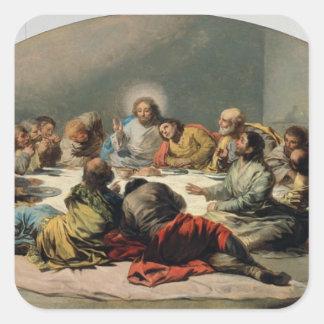 The Last Supper, 1796-97 Square Sticker