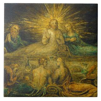 The Last Supper, 1799 (tempera on canvas) Ceramic Tile