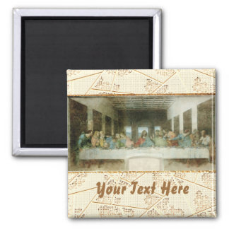 The Last Supper 2 Inch Square Magnet