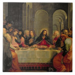 The Last Supper 2 Large Square Tile