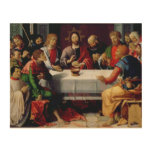 The Last Supper 2 Wood Wall Decor