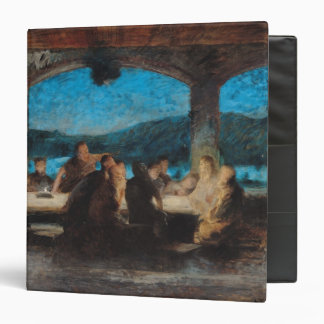 The Last Supper 3 3 Ring Binder