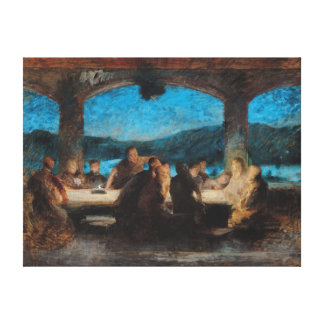 The Last Supper 3 Canvas Print