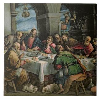 The Last Supper 3 Ceramic Tile