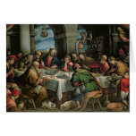 The Last Supper 3 Greeting Card