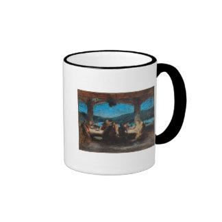 The Last Supper 3 Ringer Mug