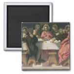The Last Supper 4 2 Inch Square Magnet