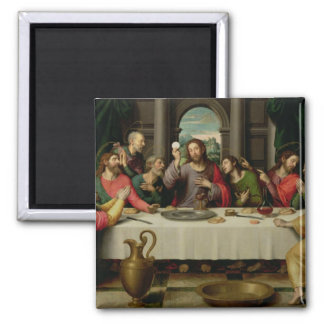 The Last Supper 5 2 Inch Square Magnet