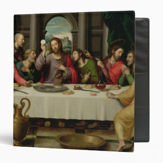 The Last Supper 5 3 Ring Binder