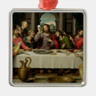 The Last Supper 5 Metal Ornament