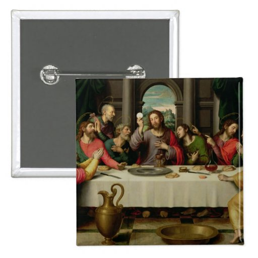 The Last Supper 5 Pinback Button