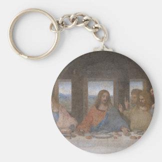 The Last Supper Basic Round Button Keychain