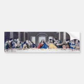 The Last Supper Bumper Sticker