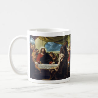 The Last Supper by Benjamin West Classic White Coffee Mug