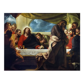 The Last Supper by Benjamin West Postcard