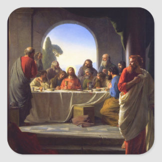 The Last Supper by Carl Bloch Sticker