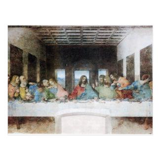 The Last Supper by Da Vinci Postcard