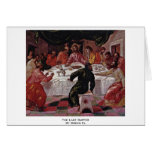 The Last Supper By Greco El Greeting Card