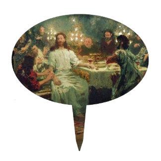 The Last Supper by Ilya Repin Cake Topper