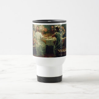 The Last Supper by Ilya Repin Travel Mug