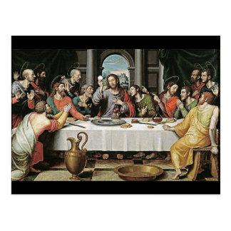 The Last Supper by Juan de Juanes Post Cards