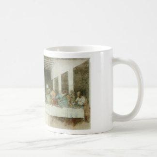 The Last Supper by Leonardo Da Vinci c. 1495-1498 Classic White Coffee Mug
