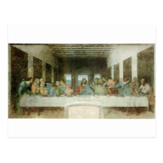 The Last Supper by Leonardo Da Vinci c. 1495-1498 Postcard