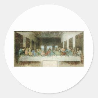 The Last Supper by Leonardo Da Vinci c 1495-1498 Stickers