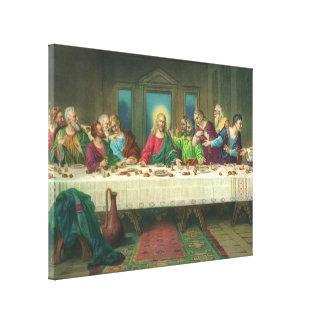 The Last Supper by Leonardo da Vinci Canvas Print