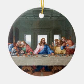 The Last Supper by Leonardo da Vinci Ceramic Ornament