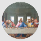 The Last Supper by Leonardo da Vinci Classic Round Sticker