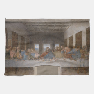 The Last Supper by Leonardo da Vinci Hand Towel