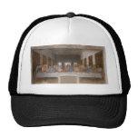 The Last Supper by Leonardo Da Vinci Hats