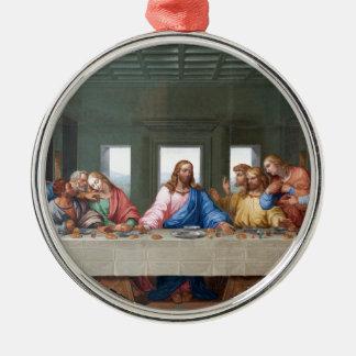 The Last Supper by Leonardo da Vinci Metal Ornament