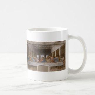 The Last Supper by Leonardo Da Vinci Classic White Coffee Mug
