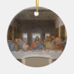 The Last Supper by Leonardo Da Vinci Christmas Tree Ornaments