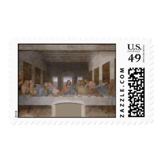 The Last Supper by Leonardo da Vinci Stamp