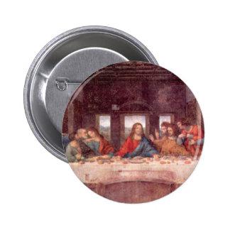 The Last Supper by Leonardo da Vinci, Renaissance Button