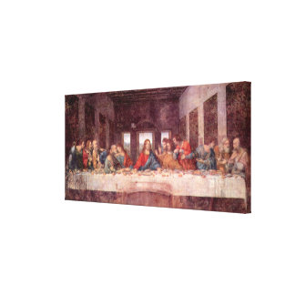The Last Supper by Leonardo da Vinci, Renaissance Canvas Print